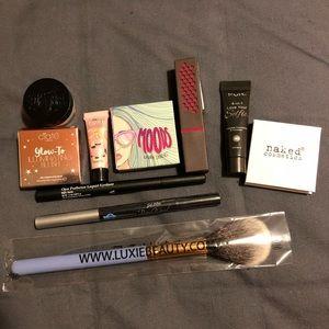 10 piece makeup set